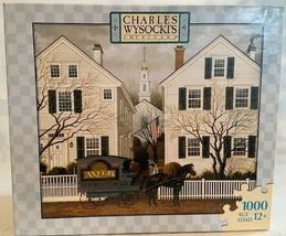 Charles Wysocki 1000 Pieces Jigsaw Puzzle Game Jacob Amherst Dove Rompec... - $54.45