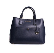 Michael Kors Greenwich Large Grab Saffiano Navy Tote - $148.00