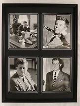 President John F Kennedy JFK  Framed 18x24 Photo Set - $89.09