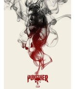 "Marvel The Punisher by Greg Ruth Mondo Screen Print Poster /250 - 18"" x 24"" - $85.45"