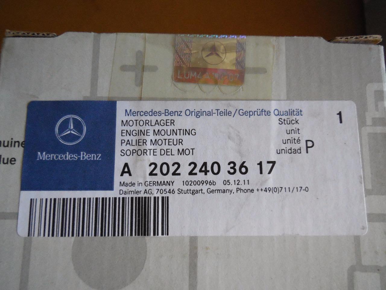 For MB W210 E320 4 Front Passenger Right /& Driver Left Motor Mounts Lemfoerder