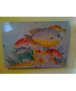 Watercolor of Tropical Fish - $20.00