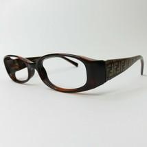 FENDI Eyeglasses Frame Italy Tortoise big logo print F7626 238 50-16-135 - $63.00