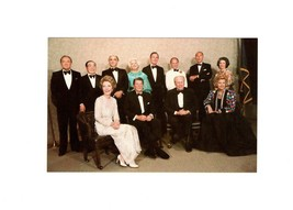 POSTCARD-PRESIDENT FORD & GUESTS AT DEDICATION OF HIS PRESIDENTIAL MUSEU... - $2.94
