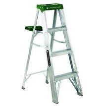 Louisville Ladder 4-Foot Aluminum Step Ladder, 225-Pound Capacity, AS4004 - $53.25