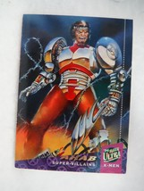 1993 Fleer Ultra X-Men Trading Card # 68 Super Villains Ahab - $0.95