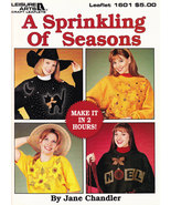 A SPRINKLING OF SEASONS DECORATIVE PAINTING FOR TOPS LEISURE ARTS 1601 - $3.50
