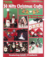 50 NIFTY CHRISTMAS CRAFTS DECORATIVE PAINTING LEISURE ARTS 1608 - $5.50