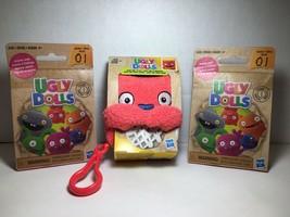 Hasbro Ugly Dolls Lucky Bat To-Go Stuffed Plush Toy 5 inch tall + 2 Blin... - $13.99