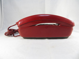Vintage 1979 Red Western Electric Bell System Trimline Rotary Wall Phone - $30.00