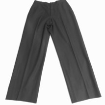 ARMANI COLLEZIONI Men's 28 X 30 Black Flat Front Dress Pants - $37.90