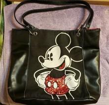 Disney Sequin Mickey Mouse Tote Purse Handbag - $14.85