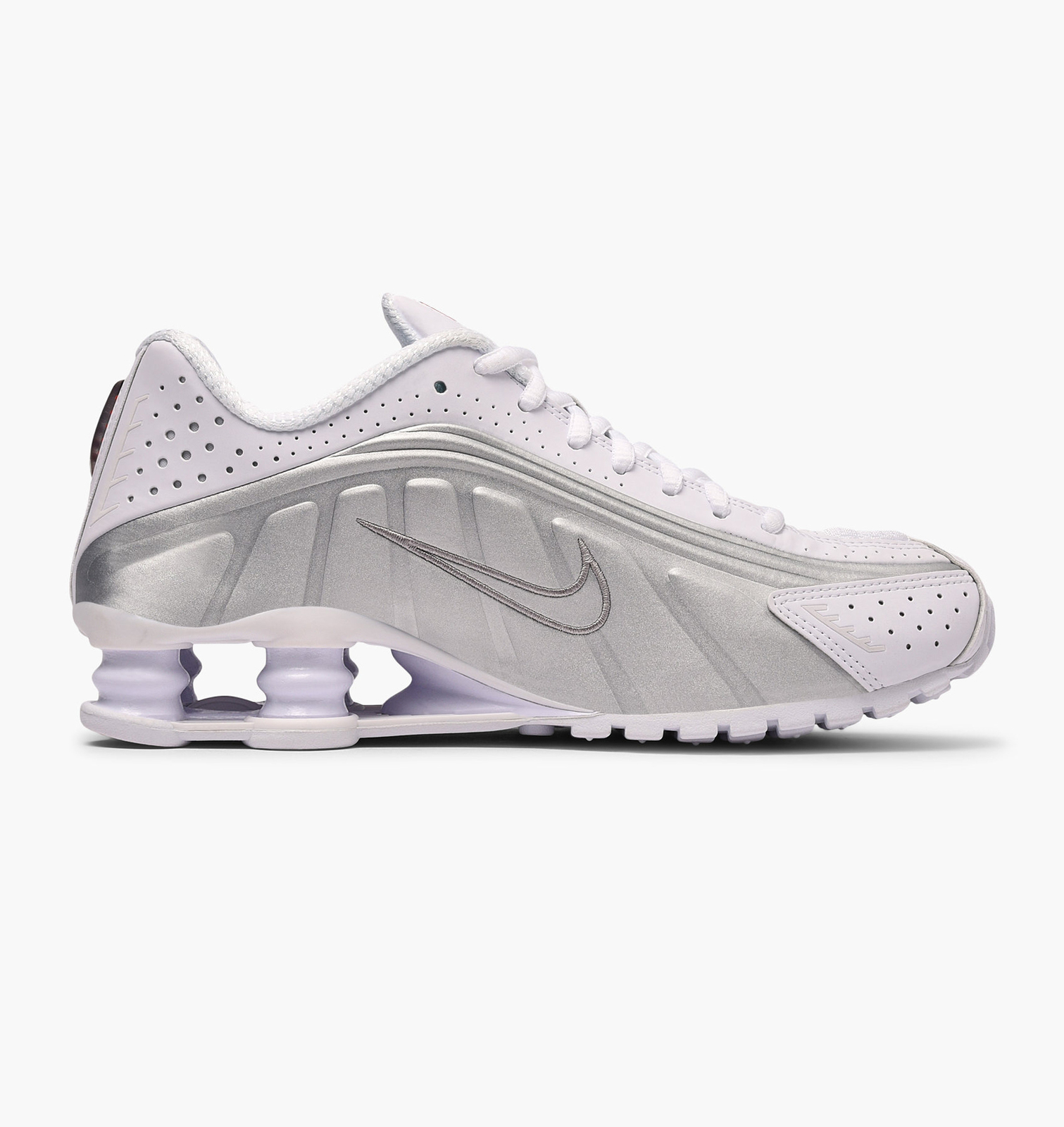 top brands best service first look Nike Shox R4 (White Metallic/ White/ Silver) and 50 similar items