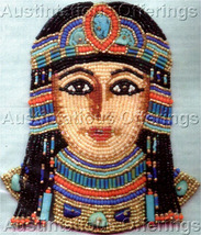 Rare Egyptian Goddess Beaded Brooch Kit Isis Beading Pin - $44.99