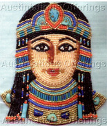 Rare Egyptian Goddess Beaded Brooch Kit Isis Beading Pin - $44.99