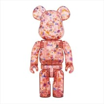 Be@Rbrick 400% & 100% Anrealage (Clear Red Ver.) Medicom Toy Figure - $280.99