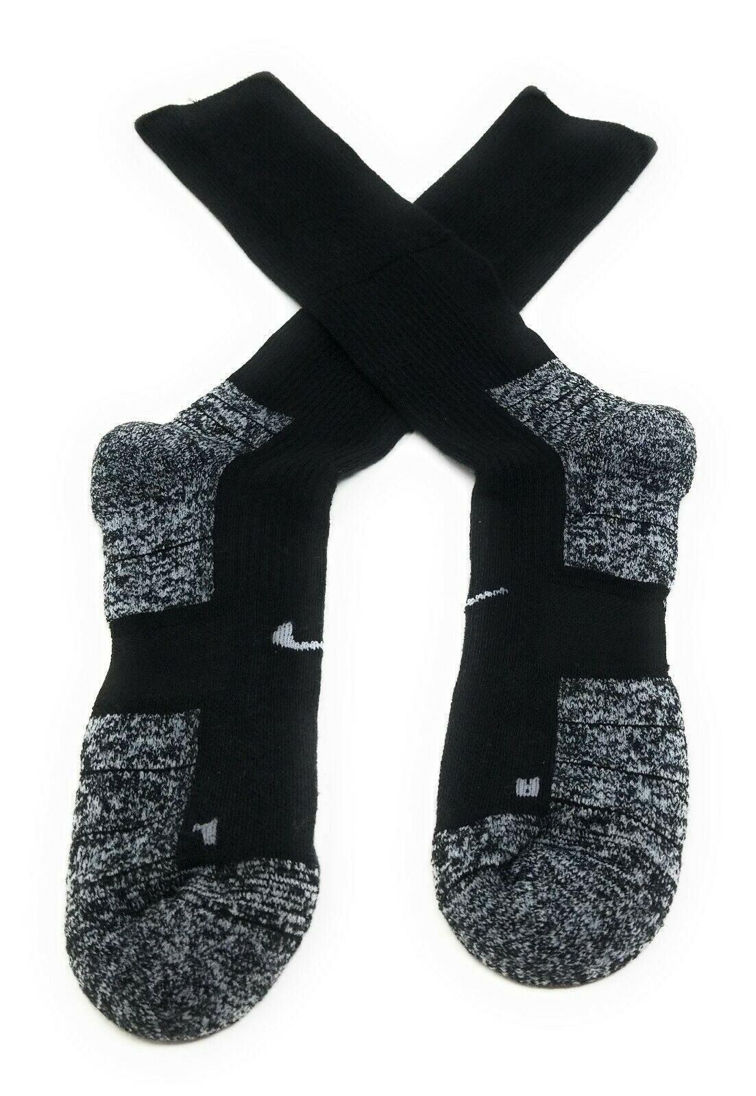 Nike Socks Crew Mens XL 12-15 Black Dri Fit Cushioned Athletic Performance Sport image 5