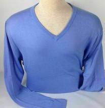 Polo Ralph Lauren Golf Pima Cotton Sweater Men Small V-Neck Long Sleeve New - $51.40