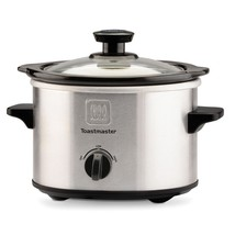 NIB TOASTMASTER 1.5 qt Stainless Steel SLOW COOKER Crock Pot NEW - $12.00