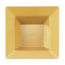 12 Oz. Gold Plastic Square Bowl/Case of 120 - €83,49 EUR
