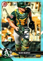 SEAN MURPHY  A'S  RC  2018 BOWMAN DRAFT #BD-91   SKY BLUE #ed/499 - $1.49