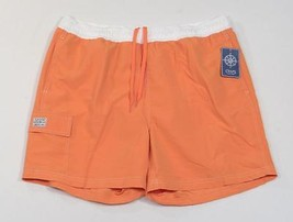 Chaps Orange Swim Trunks Board Shorts Brief Liner Mens NWT - $33.74