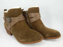 Earth Peak Porter Size US 7 M EU 39 Women's Bootie Suede Ankle Boots with Strap - $56.38