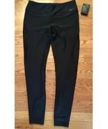 Nike Women's Medium Power Tight Poly Wrap Tights, Black, XS - $29.99
