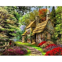 PaintingStyle PH9267 DIY Framed Oil Painting By Numbers Flowers Pictures... - $6.91