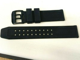 23MM RUBBER WATCH BAND REPLACEMENT FOR LUMINOX W ORIGINAL BLACK BUCKLE - $28.79