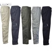 Laamei 2019 New Spring Mens Pockets Lightweight Breathable Quick Dry Pants Casua - $22.30