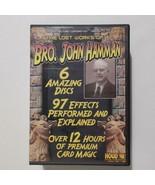 Brother John Hamman 6 DVD Box Set 97 Effects 12 Hours Card Magic Tricks - $49.49