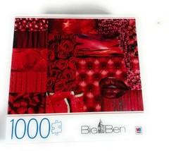 1000 Piece Jigsaw Puzzle Big Ben Reds 27 Inch X 20 Inch Milton Bradley H... - $28.16