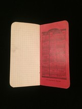 "Vintage 1929/30 ""Why not cook with GAS?"" pocket notebook image 4"