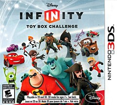 Disney Infinity Toy Box Challenge NINTENDO 3DS Video Game - $14.97