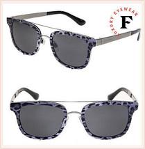 Dolce & Gabbana Print Family 2175 Gunmetal Black Leopard Sunglasses DG2175S - $222.75