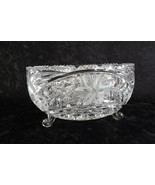 Imperlux Cut Crystal Footed Bowl from the Imperial Crystal and China Com... - $21.99