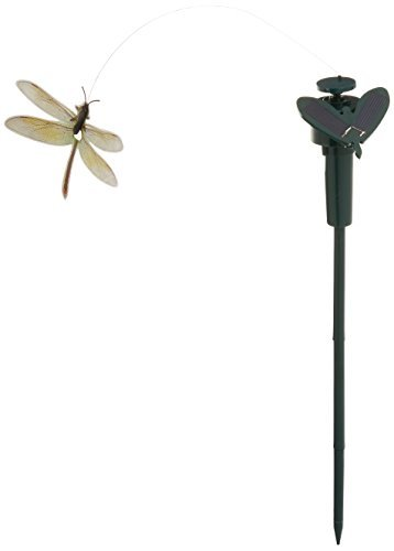 Solar Yard Stake Fluttering Insects Solar Or Battery