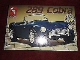 AMT Ertl 289 Cobra 1/25 Scale Model Car, IOB, Wrapper Intact 6587 - $11.88