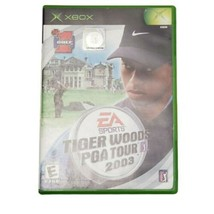 Microsoft Xbox Tiger Woods PGA Tour 2003 Video Game (Complete, 2002) - $9.74