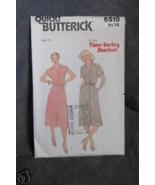 Butterick Pattern # 6519 Misses' Dress sz(8-10-12) - $1.75