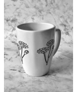 Coffee Lover Mug, Ceramic Coffee Cup, Flower Coffee Cup, Tea Cup, Custom mug, Bi - £7.15 GBP