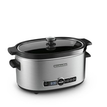 KitchenAidA 6-Quart Slow Cooker with Solid Glass Lid - $153.75