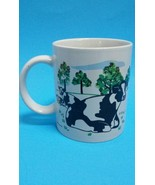 Beadshine Tranquil Cows Coffee Mug Tea Cup 1998 Tranquil Herd of Cows in... - $16.82