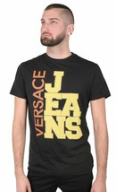 Versace Jeans Big Logo Cube Men's Graphic Tee NWT image 1