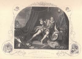 Vintage Engraving 1850 William Hogarth Print of... - $15.00