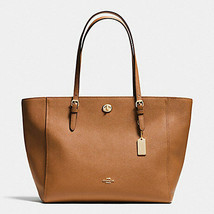 Coach Saddle Turn Lock Chain Women's Tote 56830 - $274.00