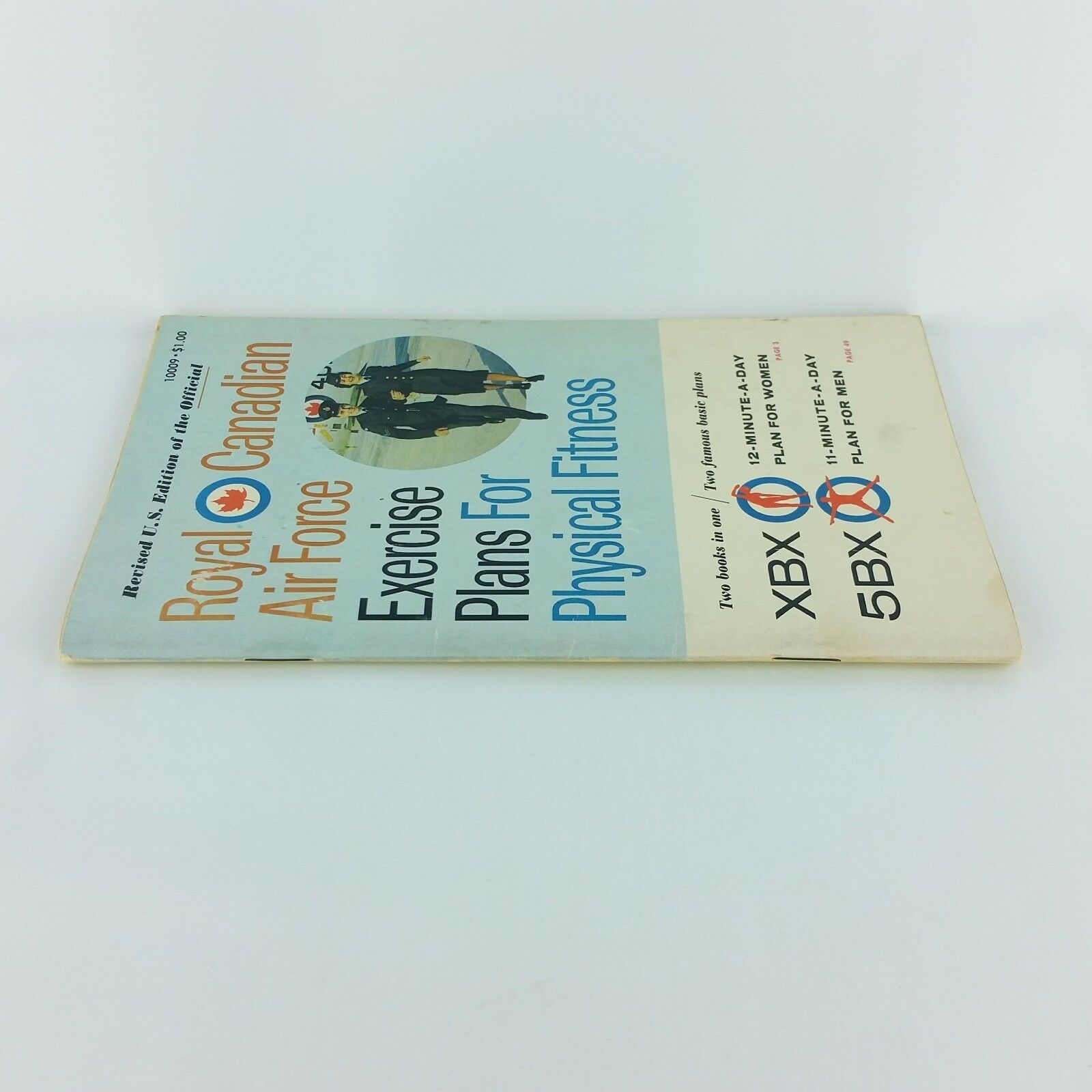 Royal Canadian Air Force Exercise Plans for Physical Fitness XBX 5BX 1962 US Ed