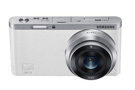 Samsung SMART CAMERA NX Mini Body with 9mm Lens KIT White /20.5MP,W-iFi,NFC NEW image 5