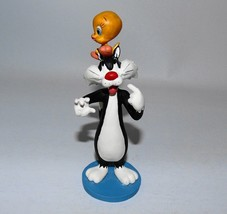 Extremely Rare! Looney Tunes Sylvester with Tweety on His Head Figurine ... - $168.30